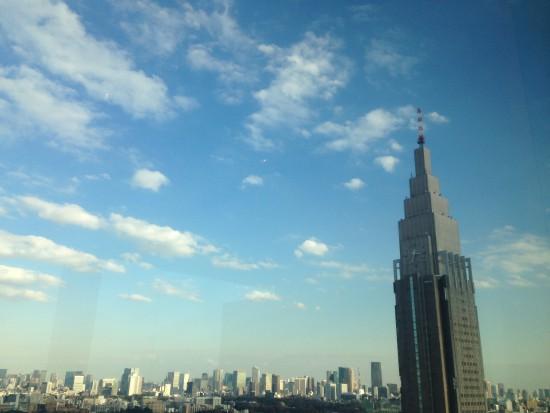 新宿の景色